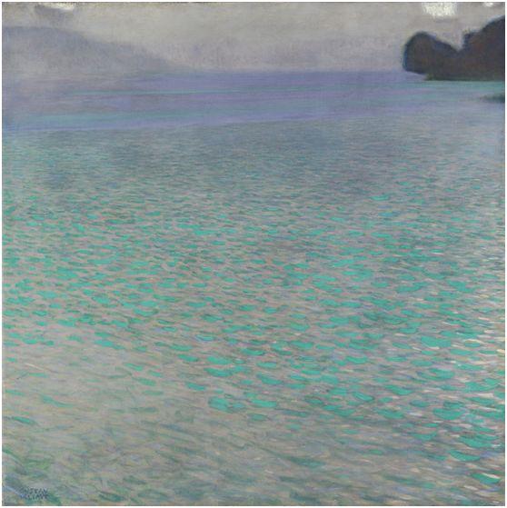 Gustav Klimt, Attersee, nsel im Attersee