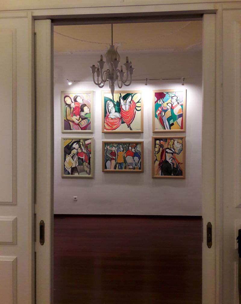 Έκθεση του Κώστα Αρχοντή «Κόσμος από Χρώμα» στο K&K Showroom