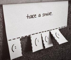 Καλημέρα! Είμαι το πρωινό σου χαμόγελο!