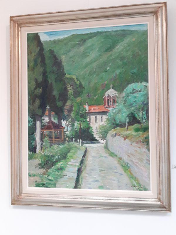 Κωνσταντίνος Κερεστετζής – Έκθεση «ΑΓΙΟΝ ΟΡΟΣ» στη Chalkos Gallery