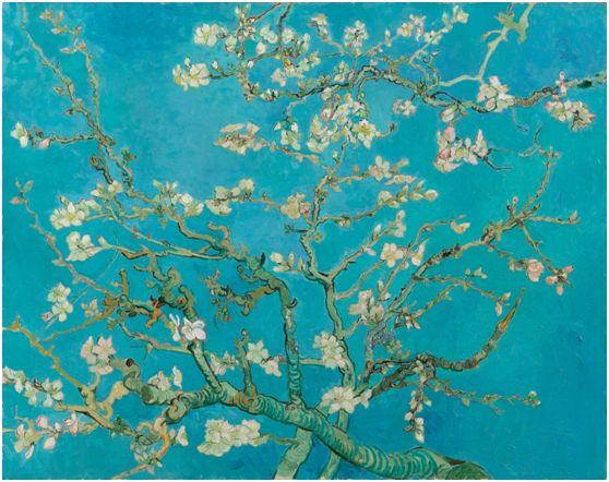 Βίνσεντ βαν Γκογκ (Vincent van Gogh) Ανθισμένη Αμυγδαλιά (1890)