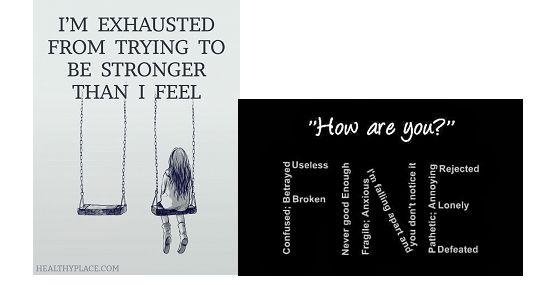 Η κατάθλιψη στο περιβάλλον μου