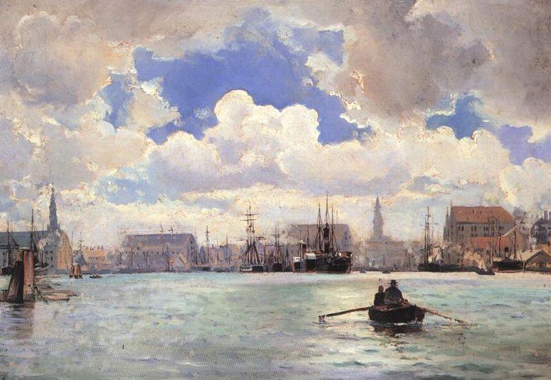 """Ιωάννης Αλταμούρας """" Το λιμάνι της Κοπεγχάγης """""""