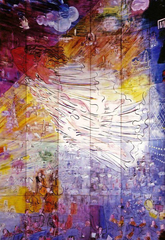 «Η Νεράιδα του Ηλεκτρισμού» του Raoul Dufy,  η μεγαλύτερη τοιχογραφία του κόσμου
