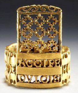 Τα μεσαιωνικά δακτυλίδια του έρωτα