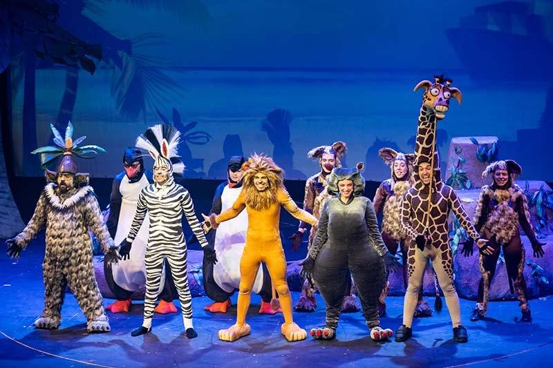 Madagascar a musical adventure, στο θέατρο Αριστοτέλειον, κριτική παράστασης