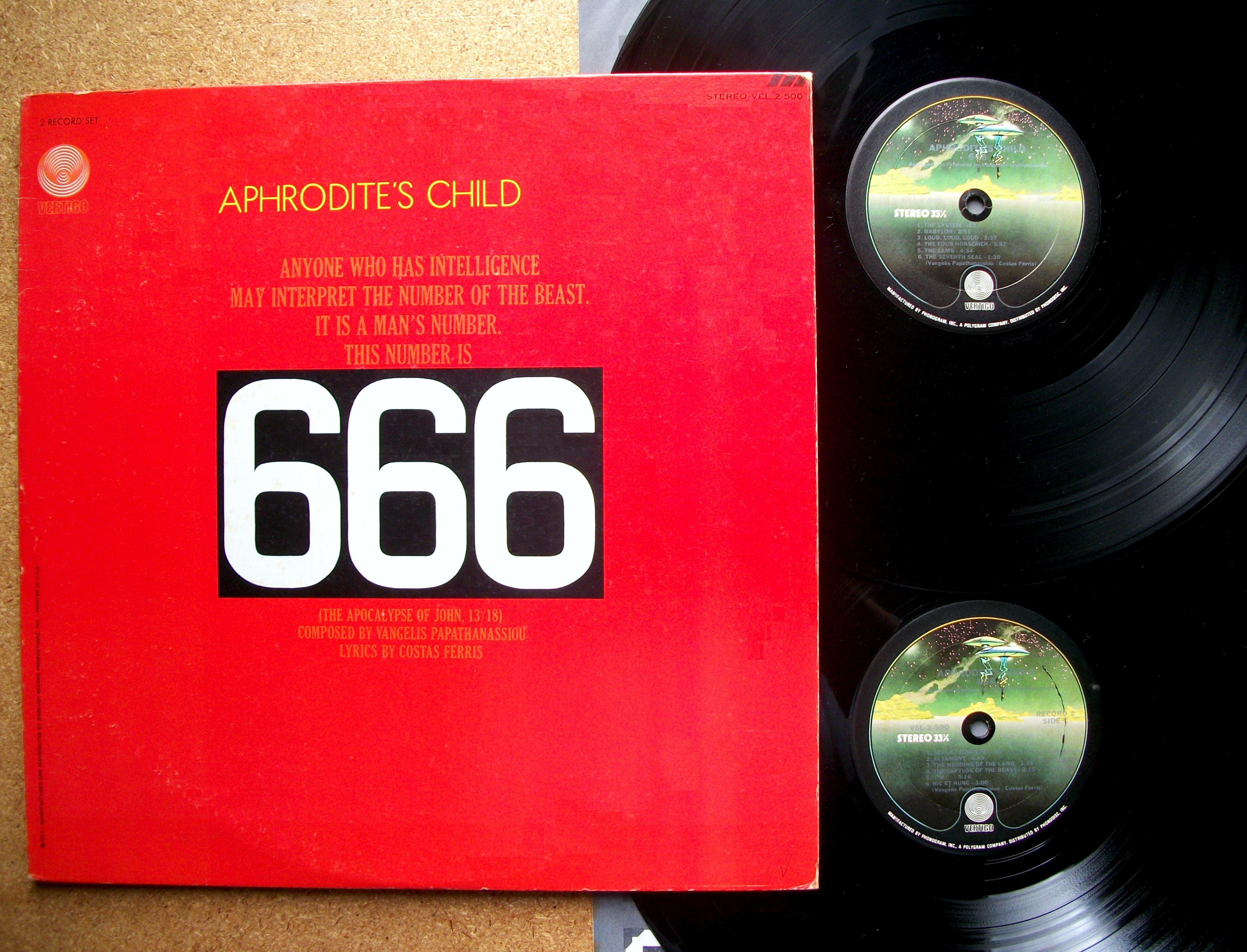 """Το μουσικό άλμπουμ """"666"""" του Βαγγέλη Παπαναθασίου"""