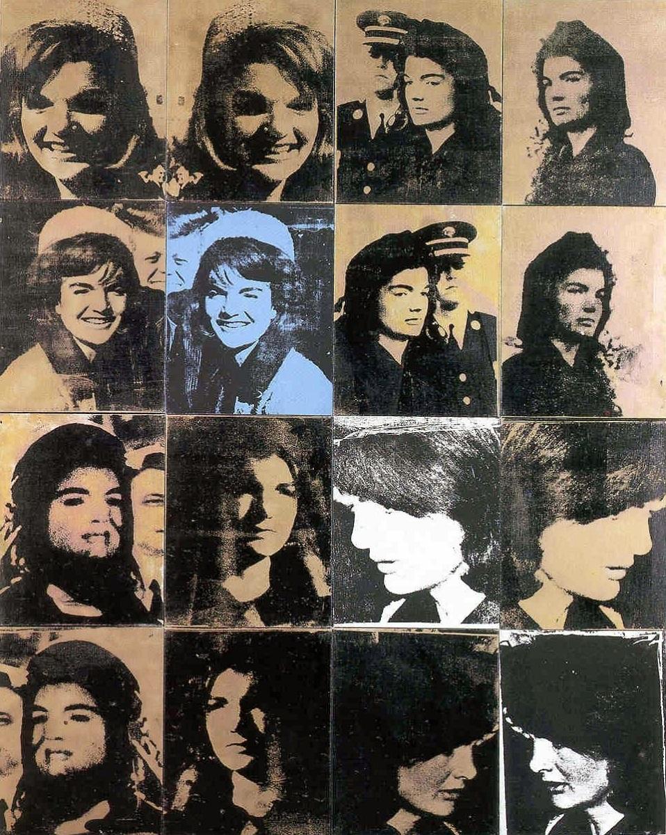 """""""Jackie (The Week that Was)"""", Andy Warhol 1964"""
